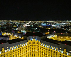 Las Vegas sprawl at night