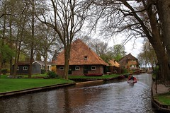 Giethoorn, North Holland, the Netherlands (Luke,Ma) Tags: leica panorama holland netherlands dutch amsterdam night digital landscape four lumix power g north nederland kingdom olympus x m panasonic f micro 28 kerk asph f28 oude 43 omd thirds giethoorn noord steenwijk gx ois 1235  vario  m43   em5  1235m