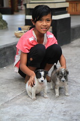 bali (stefsab) Tags: bali balinesegirl babydogs