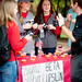 Student groups offer cupcakes for sale to benefit the Kay Yow Cancer Fund.