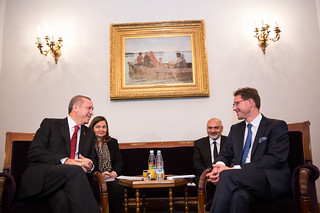 The Prime Minister of Turkey, Recep Tayyip Erdoğan in Finland