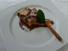 Brownie de coco y zanahoria