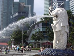 Merlion Singapore Tung Centre (Bootnecks) Tags: singapore marinapark marinabay merlionpark tungcentre singaporemerlion