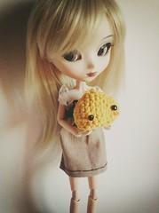 Avy & Onsen Manju (aesoph) Tags: cute kawaii onsen pullip amigurumi manju cinciallegra rewigged uploaded:by=flickrmobile brooklynfilter flickriosapp:filter=brooklyn