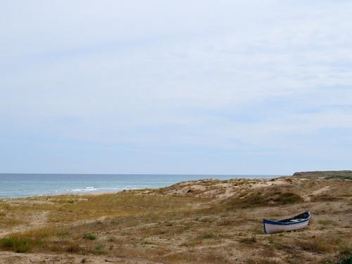 A boat on the beach near Shabla (AP4P1256)