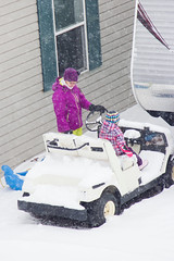 Sled Riding 2013-10 (TheDarrenSharp) Tags: winter evelyn 3yearsold sledriding