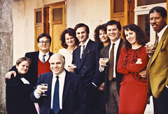 They all laughed . . . (Robert Barone) Tags: wedding italy robert ron carol 1989 chiara matrimonio sposa italians italianamericans vilma italiani lenola robertbarone