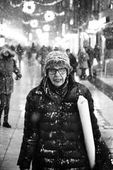 Annoying snow! (williamsaar) Tags: street md minolta sweden stockholm sony a7 drottninggatan