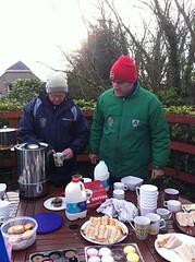 Feeding station 26th Dec 2013