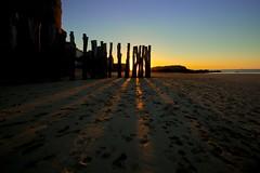 Piétiné (Hannibalgamer) Tags: sunset france beach canon bretagne 35 plage saintmalo coucherdesoleil canonef1740mmf4l canon5dmarkii