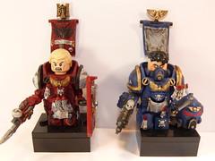 Space Marines (SecutorC) Tags: soldier greek starwars fighter lego roman dwarf fantasy warhammer warrior samurai custom dwarves skyrim appoc customlegominifigwarriorfighterapocfantasygreekromanorcdemonstarwarsgladiatorsamuraivikingspartandwarfdwarvesfuturewarhammersteampunk