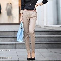 กางเกง ฟอร์มทำงาน สวยสไตล์แฟชั่นเกาหลีด้วยกางเกงทำงานทรงสวยใส่ดีไซน์หรู จะใส่ทำงานเป็นชุดฟอร์มพนักงาน ชุดทำงาน รูปแบบ ตะเข็บตัดเย็บสวยทันสมัยฟอร์มเรียบร้อยใส่สบาย สไตล์กางเกงทำงานสวยไม่ซ้ำแบบใคร ดีไซน์งานละเอียดด้วยเนื้อผ้าผสมมีระดับ ไม่ยับง่าย เสื้อผ้างา