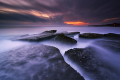 The Dark Reef (eggysayoga) Tags: longexposure sunset bali seascape beach night indonesia landscape nikon lima cloudy tripod ss wide hard tokina le 09 nd slowshutter stacking filters f28 holder graduated lightroom waterscape averaging uwa gnd intervalometer tabanan leefilter d7100 1116mm babadan imageaveraging