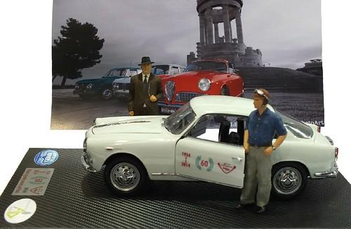 Miniminiera Bialbero Giulietta Sprint