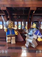 BtNW:C - Facing deMaler (GustSil) Tags: brasil fight ship lego pirate sword salvador minifigs portuguese moc