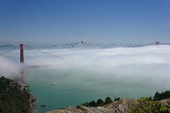 Cloudy Golden Gate