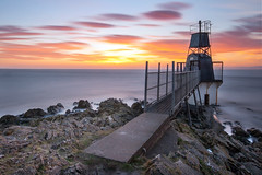Battery point sunset (Dan Andres Photography) Tags: longexposure sunset canon bristol sundown portishead sunday sigma 1020mm batterypoint f456 beautifulcapture nd1000 400d nd30 10stopfilter bigstopper blinkagain