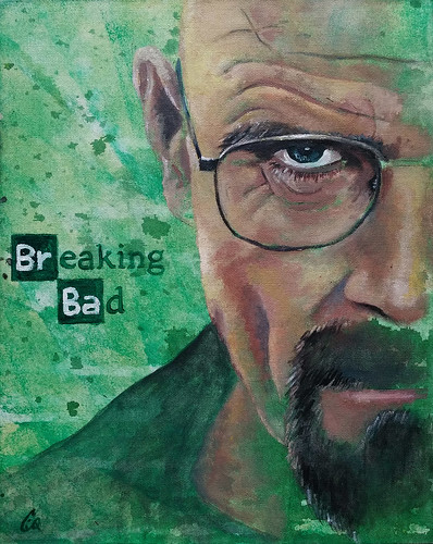 I Am the One Who Knocks - Acrylics
