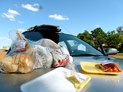 Lunch time, road trip, Argentine