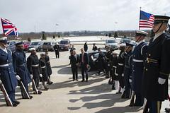 Defence Secretary Philip Hammond Visits Washington (UKinUSA) Tags: british defense hammond defence hagel ukus ukinusa
