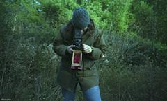 35mm VS 120 (BunnySafari) Tags: minolta darwin 35mmfilm shootfromthehip fpp goforit norules expiredkodakgold400