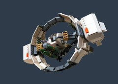 Ring starfighter (legodrome) Tags: labrousse dabrick legodrome starfighter lego damien
