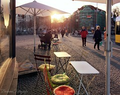 Berlin streets (berlinka_lg) Tags: berlin steglitz germany deutschland streets streetsphotography urban sunset city
