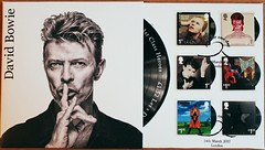 David Bowie First Day Cover (Darren...) Tags: stamps david bowie fdc fdcovers first day cover sssh