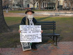 In Front of The White House, Lafayette Square, 2/12/2017 (Susan Melkisethian) Tags: antitrump trump thewhitehouse washington washingtondc impeach protest president lafayettesquare lafayettepark resist resistance nonviolent
