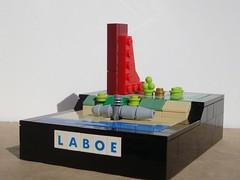 Marine-Ehrenmal Laboe und U-995 (captain_joe) Tags: toy spielzeug 365toyproject lego kiel laboe marine submarine ehrenmal marchitecture