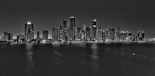 Skyline of Miami, Florida, USA / The Magic City
