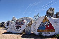 (shadowplay) Tags: ftirwin barstow military patches memorial mojave