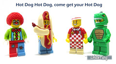 Hot Dog Hot Dog, come get your Hot Dog (WhiteFang (Eurobricks)) Tags: lego collectable minifigures series city town space castle medieval ancient god myth minifig distribution ninja history cmfs sports hobby medical animal pet occupation costume pirates maiden batman licensed dance disco service food hospital child children knights battle farm hero paris sparta historic