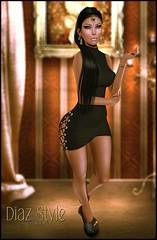 # 527 News from The Bishes Inc ♥ (Mɪss Dɪᴀᴢ) Tags: the bishes inc black fashion fair doux kibitz ryca random matter catwa bento head maitreya body secondlife sl style
