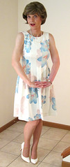 Sleeveless Pastel Floral Dress (1 of 5) - Toes Together (s_a_essay) Tags: transgender