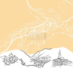 Andorra la Vella Background Map (Hebstreits) Tags: abstract andorra andorralavella architecture art background black building canvas capital card cartography cityscape clean destination europe famous footer geography greeting illustration infographic map monochrome outline panorama pen presentation print roads scalable sketch skyline streets tourism tourist travel trip urban vector view wall water ways white