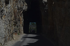Needles Tunnel (the factory wall) Tags: blackhills southdakota needles tunnel