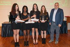 Micaela Melatini, Diallo Binta, Alice Principi, Ilaria Sabbatini con Alferio Canesin