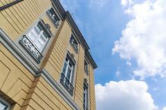 Schloss Karlsruhe von unten