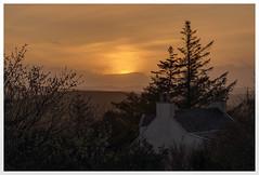 Sun Going Down (Digital Wanderings) Tags: sunset whitehouse sundown cottage country portree skye isleofskye borve d5300