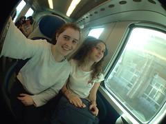 🌷 (sofiarasile) Tags: fisheye levanto liguria treno