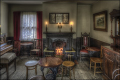 Victorian Pub Room (Darwinsgift) Tags: victorian pub public house room black country living museum dudley hdr photomatix pce nikkor 24mm f35 ed mf d nikon d810