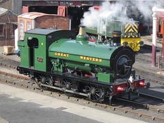 IMG_4801 - GWR Hudswell Clarke Saddle Tank 813 (SVREnthusiast) Tags: didcotrailwaycentre didcot railway centre gwrhudswellclarkesaddletank813 gwr hudswellclarke saddletank 813
