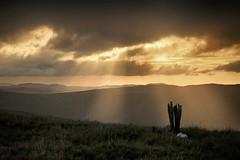 Summit sunbeams (OutdoorMonkey) Tags: sunshine sunlight sunbeam summit penyralltuchaf aran mountain hill hilltop peak countryside morning arans wales aranmountains snowdonia snowdonianationalpark nationalpark