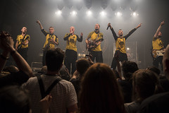 Amsterdam, The Netherlands  -16 April 2017: concert of Bosnian rock music band Dubioza Kolektiv at venue Melkweg -41 (CloudMineAmsterdam) Tags: dubiozakolektivmelkwegamsterdam fan public amsterdam artists band concert concertlights crowd editorial electricguitar entertainment europe event gathering rock dub leisure lights loud music musician netherlands holland party people performance show singer vocals cheering audience happysmile fun hiphopreggae stage