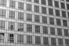 Urban Invasion (www.karltonhuberphotography.com) Tags: 2017 abstract bw blackandwhite citystreets cityscape constructioncrane costamesa horizontalimage karltonhuber lines monochrome officebuilding officetower patterns reflection shapes southerncalifornia streetphotography streetscene urban urbaninvasion urbansprawl windows