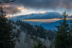Morning in the Smokies (Jon Ariel) Tags: gsmnp greatsmokymountains nc northcarolina mountains sunrise