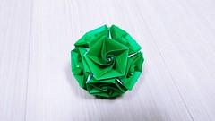 Jangmi (hyunrang) Tags: modular origami rose dodecahedron unit hur jangmi 13 polyhedron