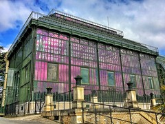 Paris  France ~  Jardin des Plantes  ~ Botanical Garden ~ Mexican Hothouse  1834