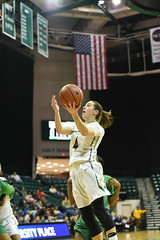 WBasketball-vs-North Texas, 1/26, Chris Crews, DSC_4918 (PsychoticWolf) Tags: 49ers basketball charlotte cusa d1 green mean ncaa ninermedia north nt texas unc uncc unt womens